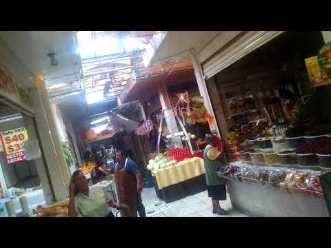 Temblor en el mercado de Ciudad Azteca 19/09/2017