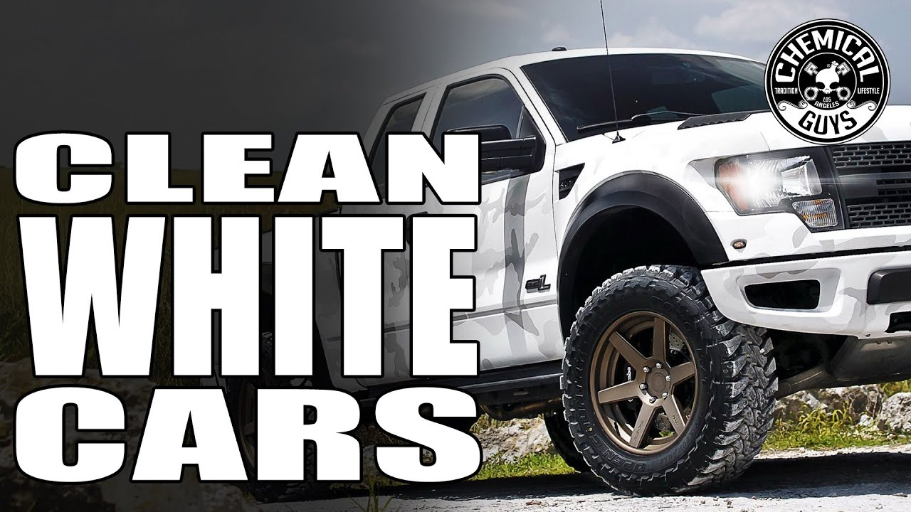 How To Clean And Detail White Cars Chemical Guys Car
