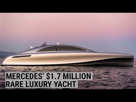 Tour Mercedes' rare $1.7 million luxury yacht