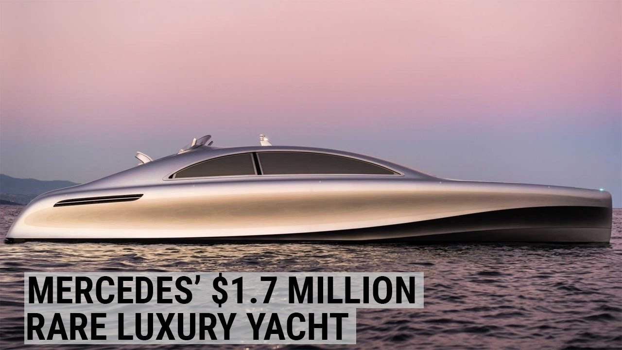 The Mercedes Yacht Is 1.7 Million Of Seagoing Extravagance forecast