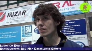 10-02-2013: Intervista a Ludovico Dolfo nel post NewMater-Piacenza 3-1