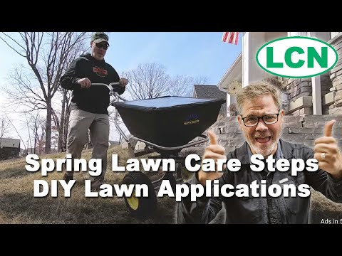Spring Lawn Care Steps | DIY Lawn Applications 2019
