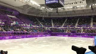 平昌オリンピック フィギュアスケート女子SP 宮原知子選手の現地映像です。