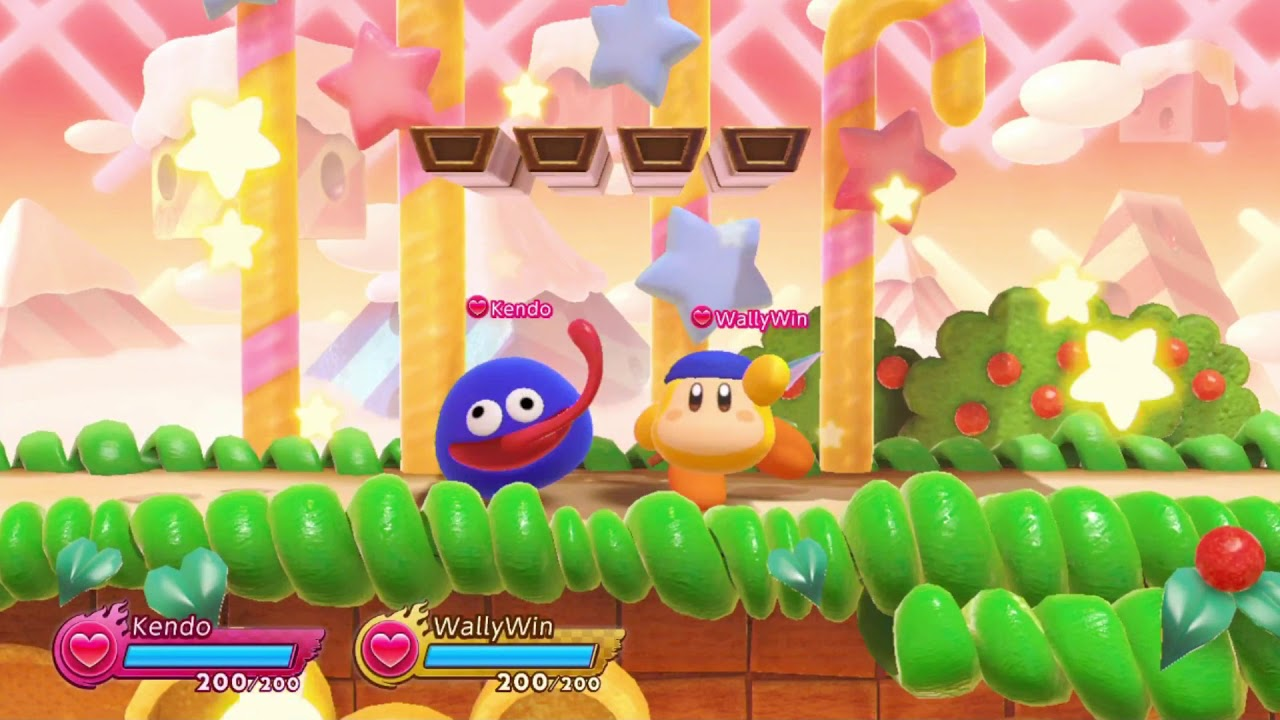 KIRBY FIGHTERS 2 Online Friend Match Multiplayer