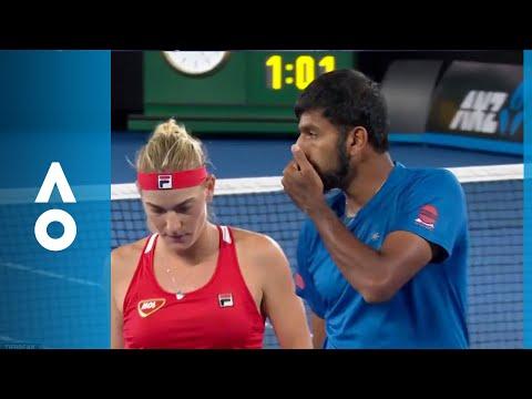 Mixed Doubles Final: Super Tiebreak Between Babos/Bopanna V Dabrowski/Pavic | Australian Open 2018