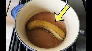 Пенсионерка каждый вечер отваривает банановую кожуру и рекомендует попробовать так каждому