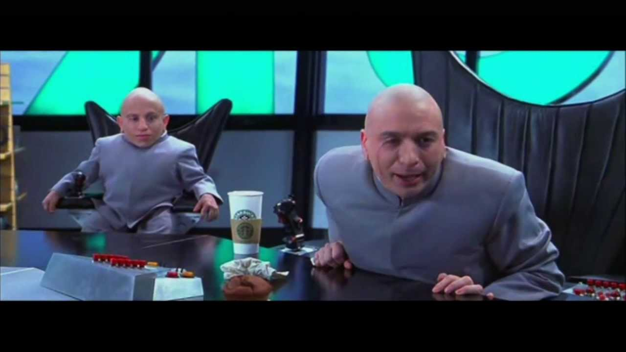 zip it dr evil austin powers movie scene youtube