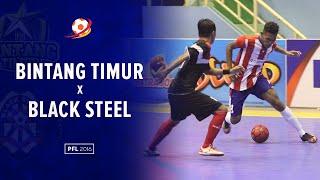 Highlight : Bintang Timur Surabaya VS Black Steel Manokwari (4 - 5) : Pro Futsal League 2016