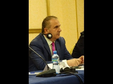 Kol Nikollaj - President of KSSH  - Trade Union - Albania