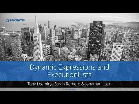 Tricentis Tosca MOOC: Dynamic Expressions and ExecutionLists