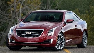 Cadillac ATS Coupe 2015 обзор / Review