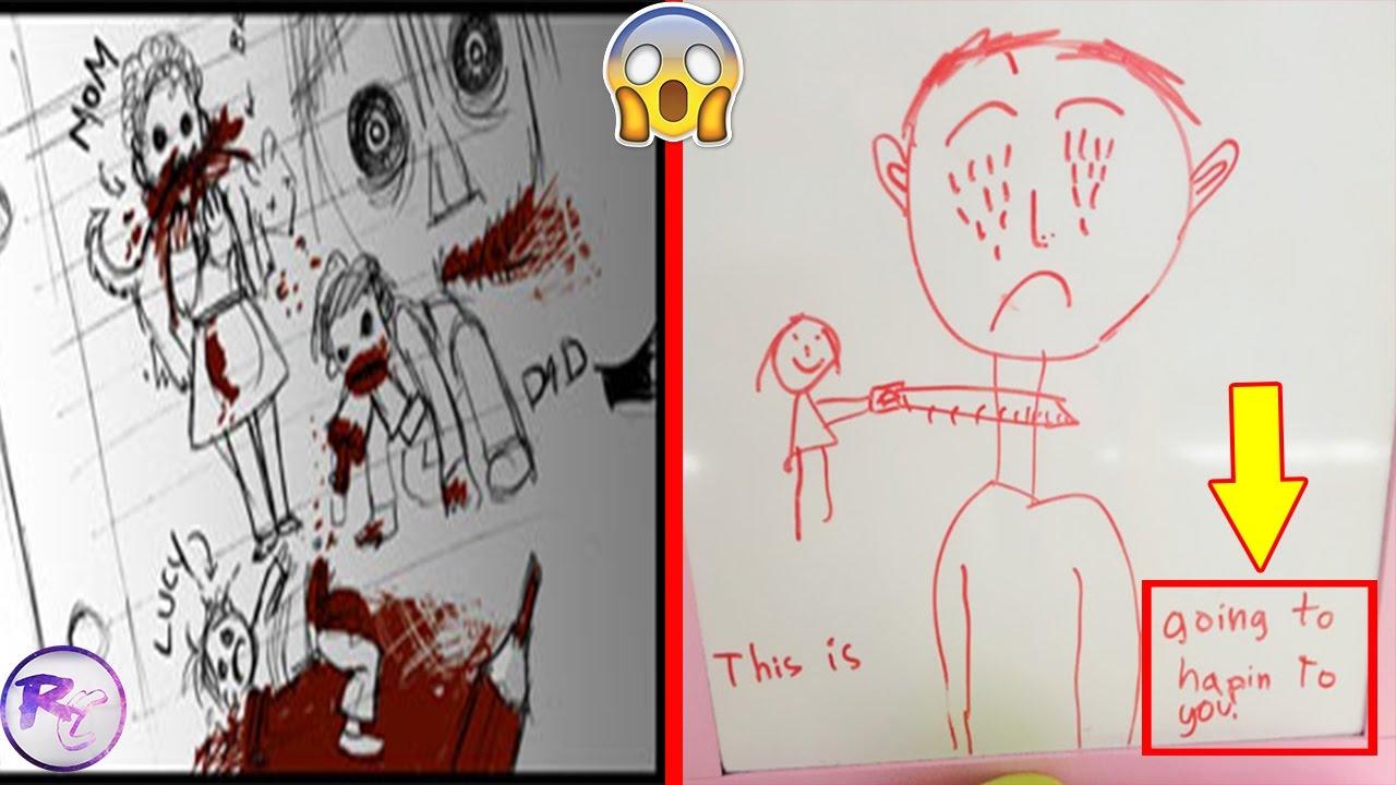 most creepiest kids drawings - Kids Drawings Images