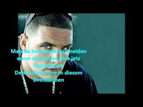 Fler feat. Bushido - Blaulicht bei Nacht [LYRICS ON SCREEN] HD 1080p mp3