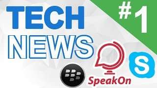 TECHNEWS #1 - UBA venció a Harvard | Skype web | Blackberry con Android | SpeakOn