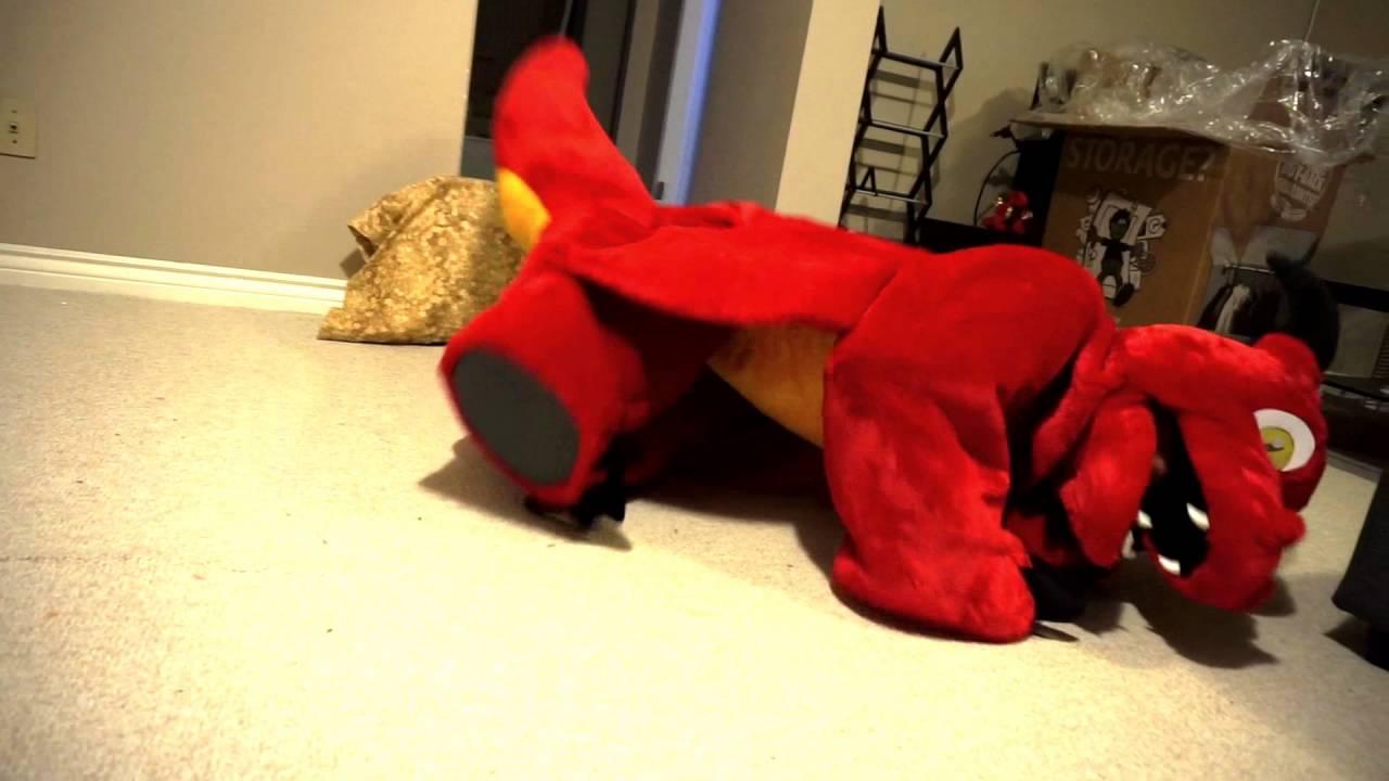 Dav Dragon Plush Quadsuit Clips