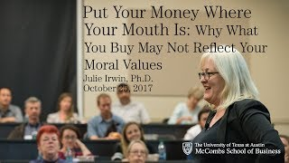 Put Your Money Where Your Mouth Is: Why What You Buy May Not Reflect Your Moral Values