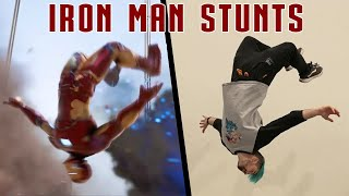 Stunts From Iron Man In Real Life (Avengers EndGame Tribute) Video