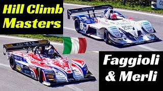 Simone Faggioli Norma M20FC-Zytek & Christian Merli Osella FA30-Zytek - Hill Climb Masters 2018