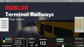 ROBLOX | Terminal Railways | New update!