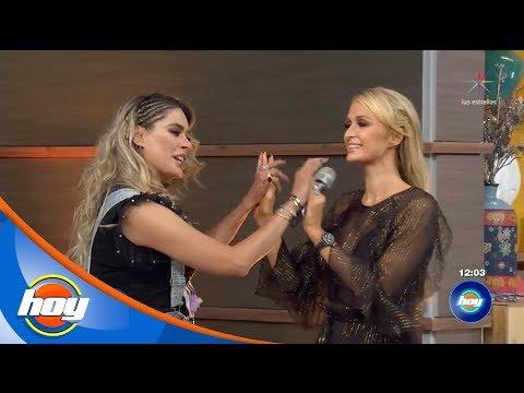 """Paris Hilton y Galilea Montijo hacen buen equipo en """"Piensa Rápido""""   Hoy"""