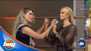 Paris Hilton y Galilea Montijo hacen buen equipo en 'Piensa Rápido' | Hoy
