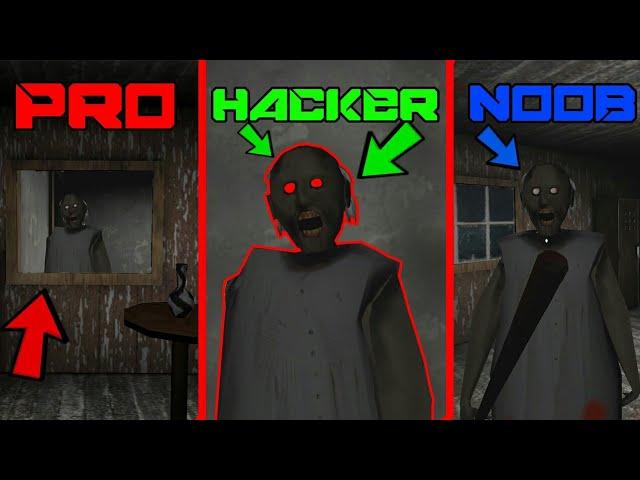 Granny - HACKER vs NOOB vs PRO