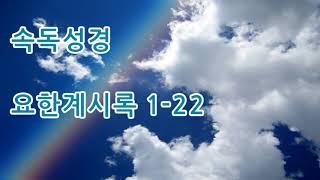 속독성경 개역한글 요한계시록 전체22장 성경듣기