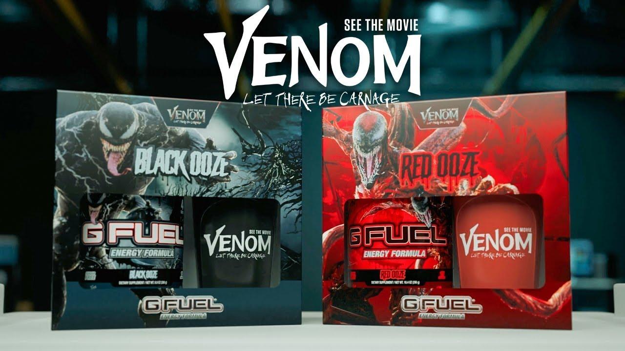 Venom x G FUEL - Black Ooze & Red Ooze IS BACK!