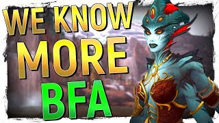 The Place of Azshara, Allied Race Unlocks & The Endgame of Battle for Azeroth | Update