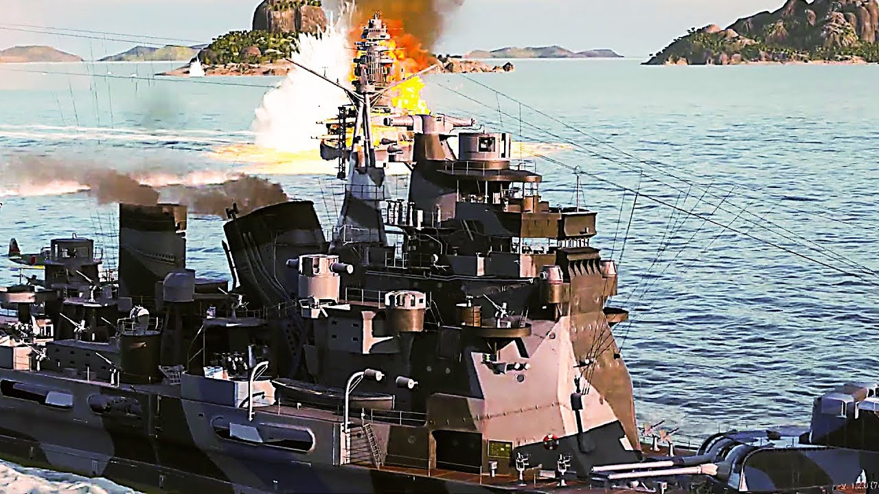 """WORLD OF WARSHIPS LEGENDS """"Hunt for Atago"""" Trailer (2019) PS4 / Xbox One + vídeo"""