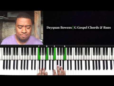 G Gospel Chords & Runs with Reharmonization   I Surrender All