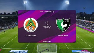 PES 2020   Alanyaspor vs Denizlispor - Super Lig   19/07/2020   1080p 60FPS