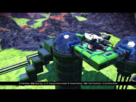 No Man's Sky  I found another player's base!