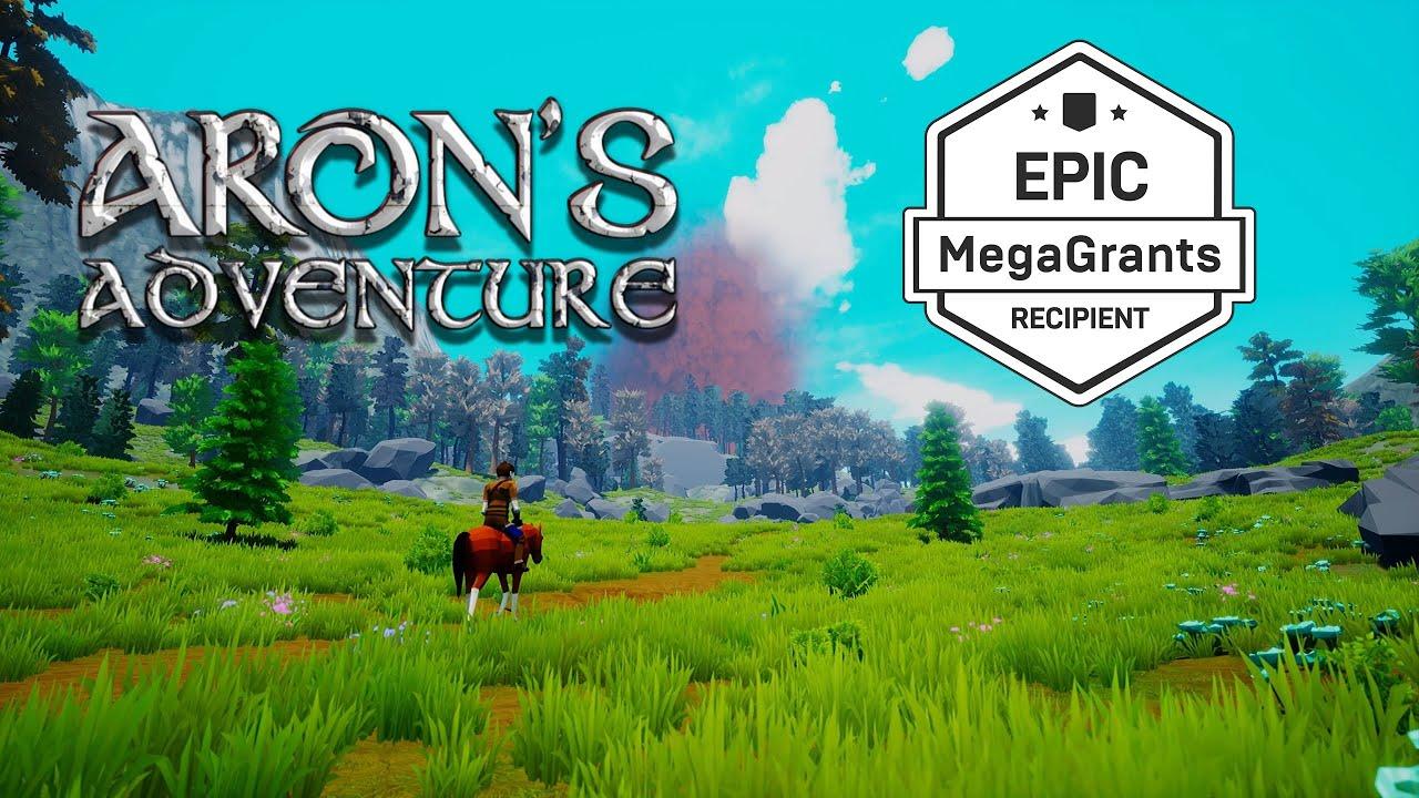 Aron's Adventure трейлер игры