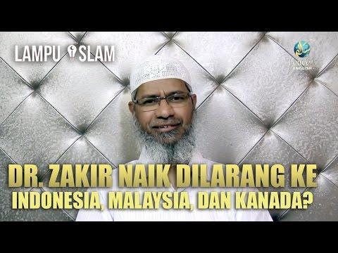 Benarkah Dr. Zakir Naik Dilarang ke Indonesia, Malaysia, dan Kanada?