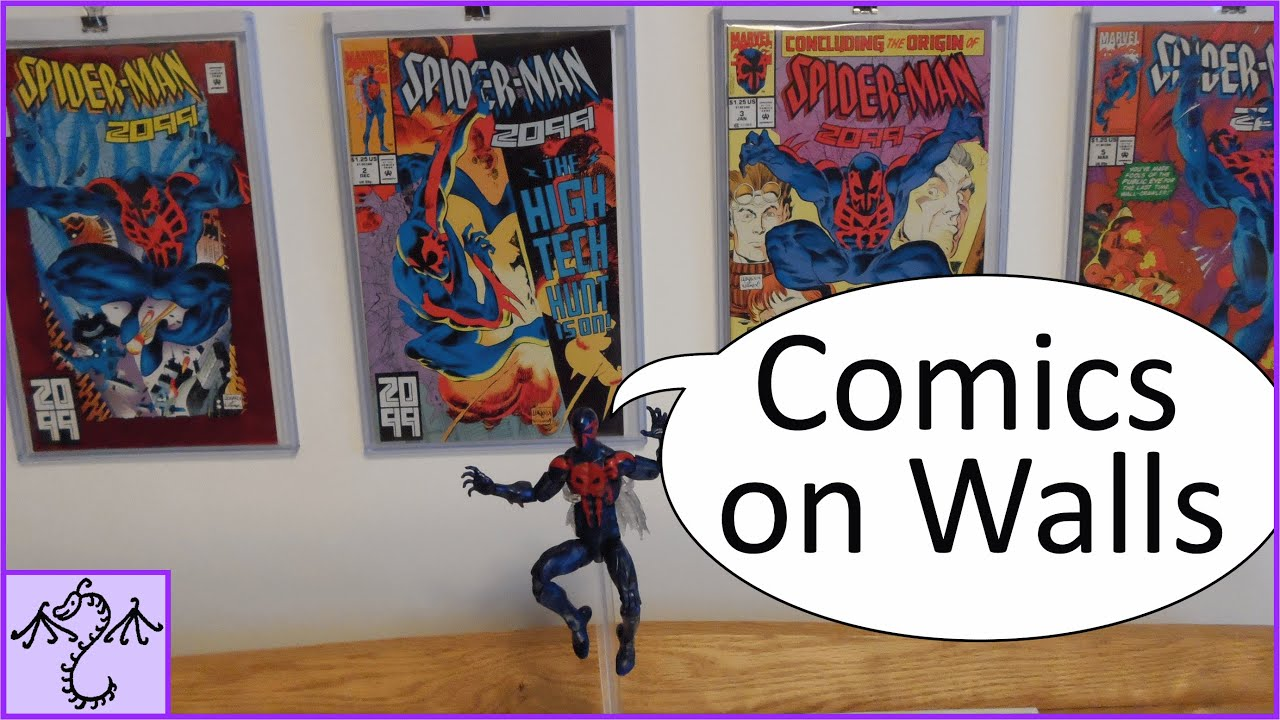 How to Display Comic Books on Walls without Damage