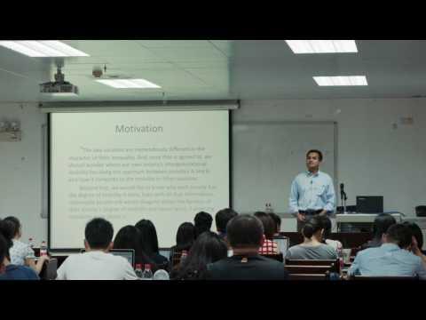 SSSI Guangzhou 2017: Bhashkar Mazumder