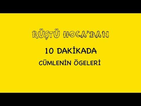 42) Kadir GÜMÜŞ - Cümlenin Öğeleri - I (TYT-Türkçe) 2022