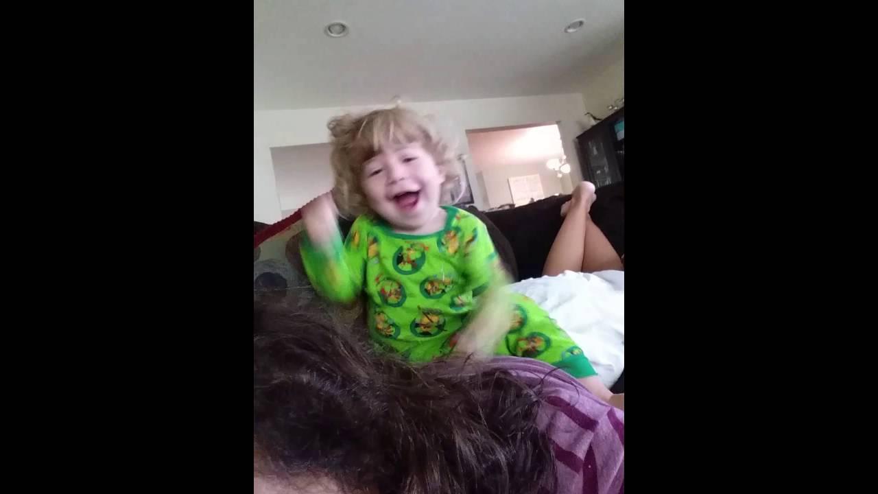 Dylan gets a massage