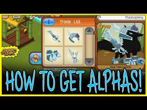 How To Get Every Alpha Item On Animal Jam! Sword, Helmet, Gauntlets, Armor