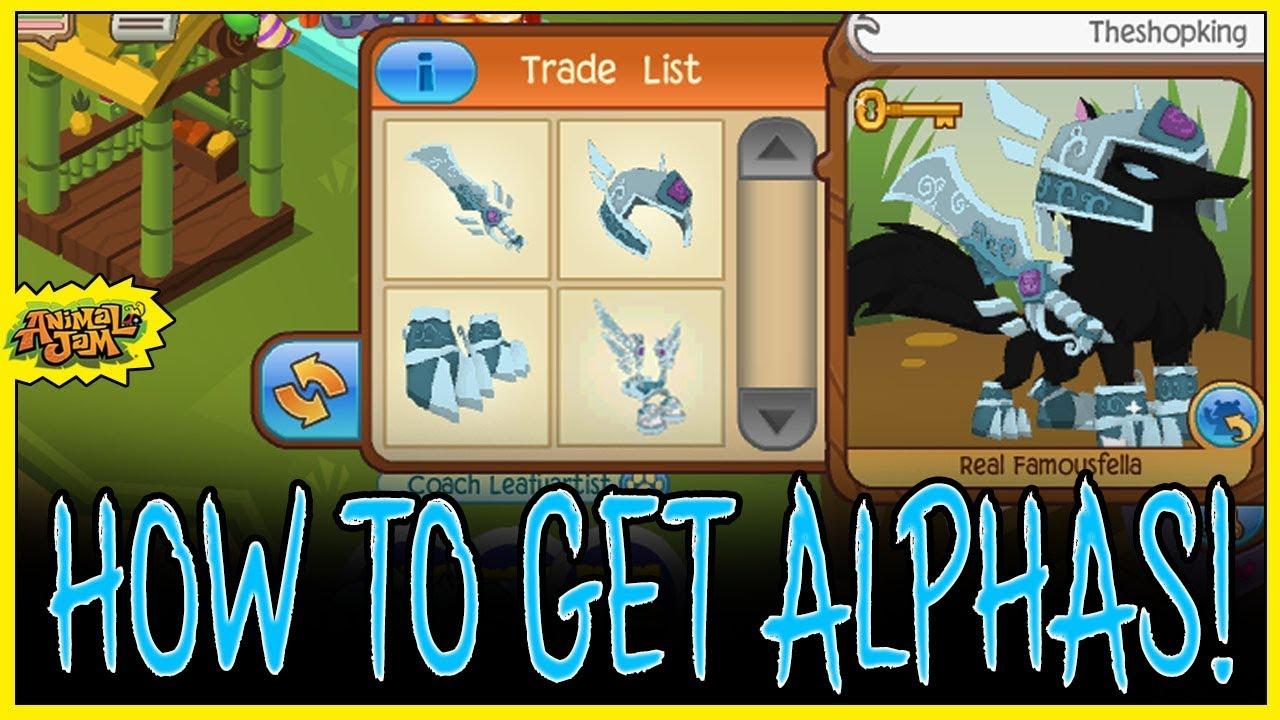 Animal Jam Codes List how to get every alpha item on animal jam! sword, helmet, gauntlets, armor