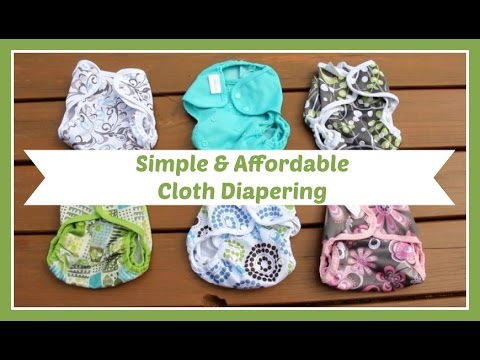 Our Simple & Affordable Cloth Diaper Stash