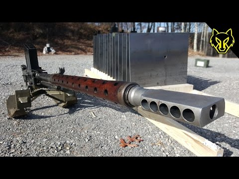 20mm Anti Tank Lahti vs 16 Steel Plates!