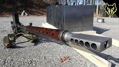 20mm Anti Tank Lahti vs 16 Steel Plates! slow motion Richard Ryan