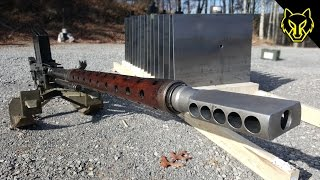 20mm Anti Tank Rifle vs 16 Steel Plates!