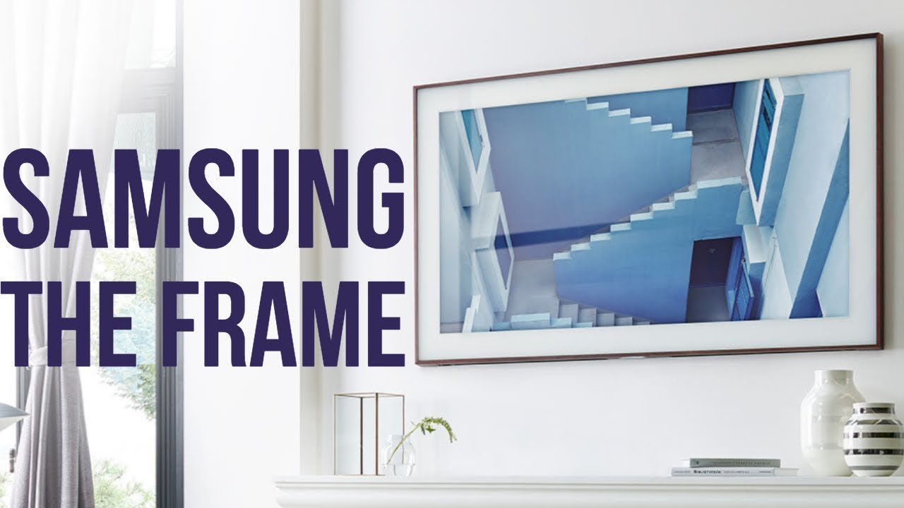 Samsung's updated Frame TV brings an artist's touch to your living room