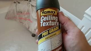Homax Knockdown Ceiling Texture Review