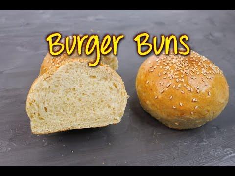 burger buns selber machen hamburger br tchen rezept einfach gelingsicher youtube. Black Bedroom Furniture Sets. Home Design Ideas