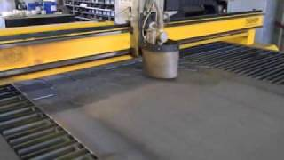 Art Cnc Plasma Cutter In Action