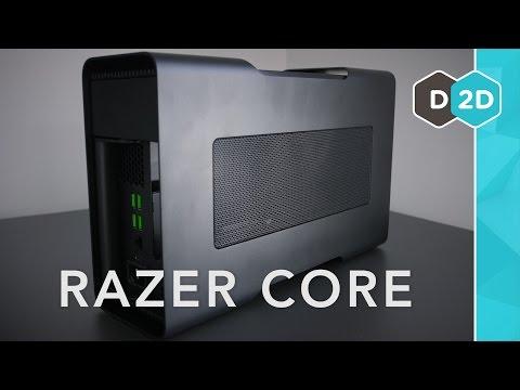 Razer Core Review - The Best External GPU? - YouTube